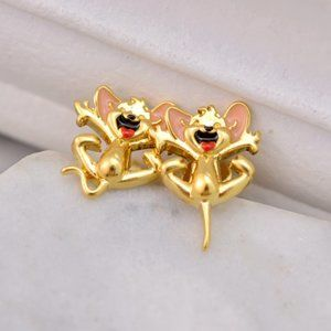 Kate Spade Fashion Cute Mouse Earrings